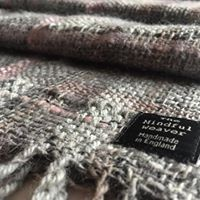 Peony Mist Hand Woven Wool and Silk Shawl