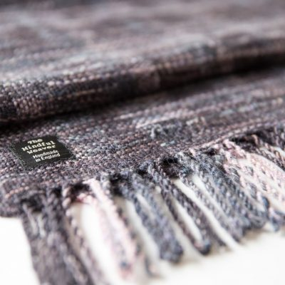 Mourning Handwoven Shawl